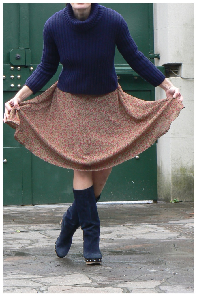 Vintage, style, Marni boots, vintage skirt,