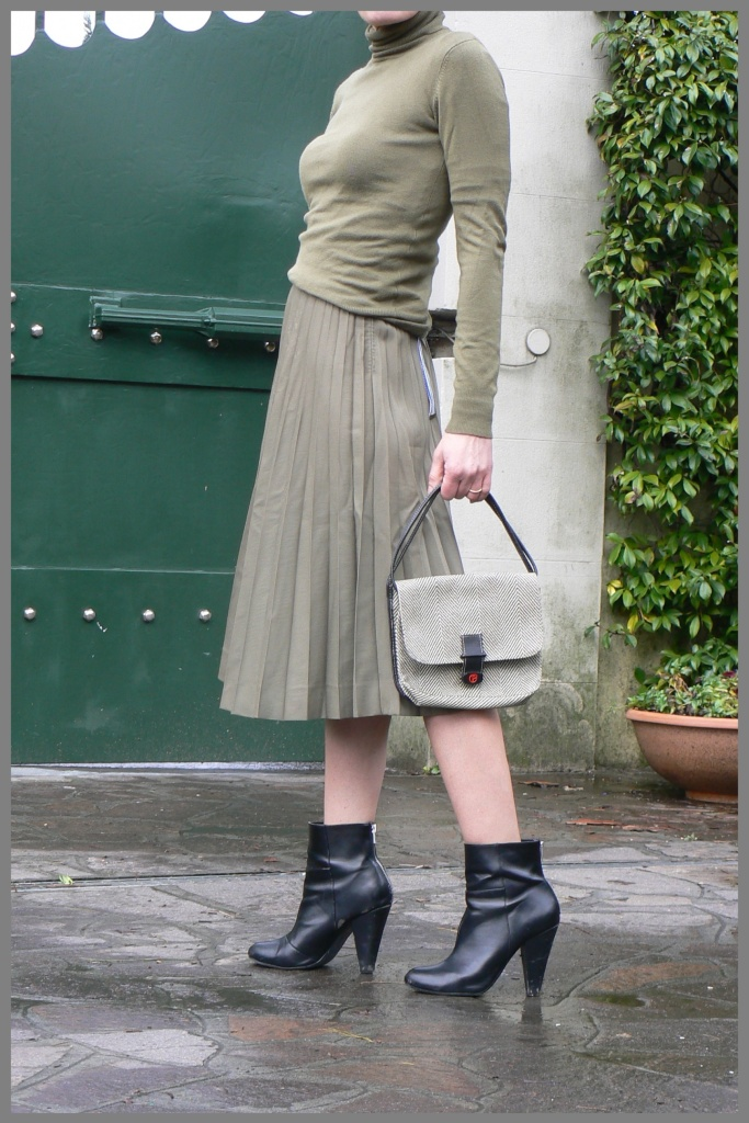 Florence,Green skirt, vintage, vintage style, Anastasia,