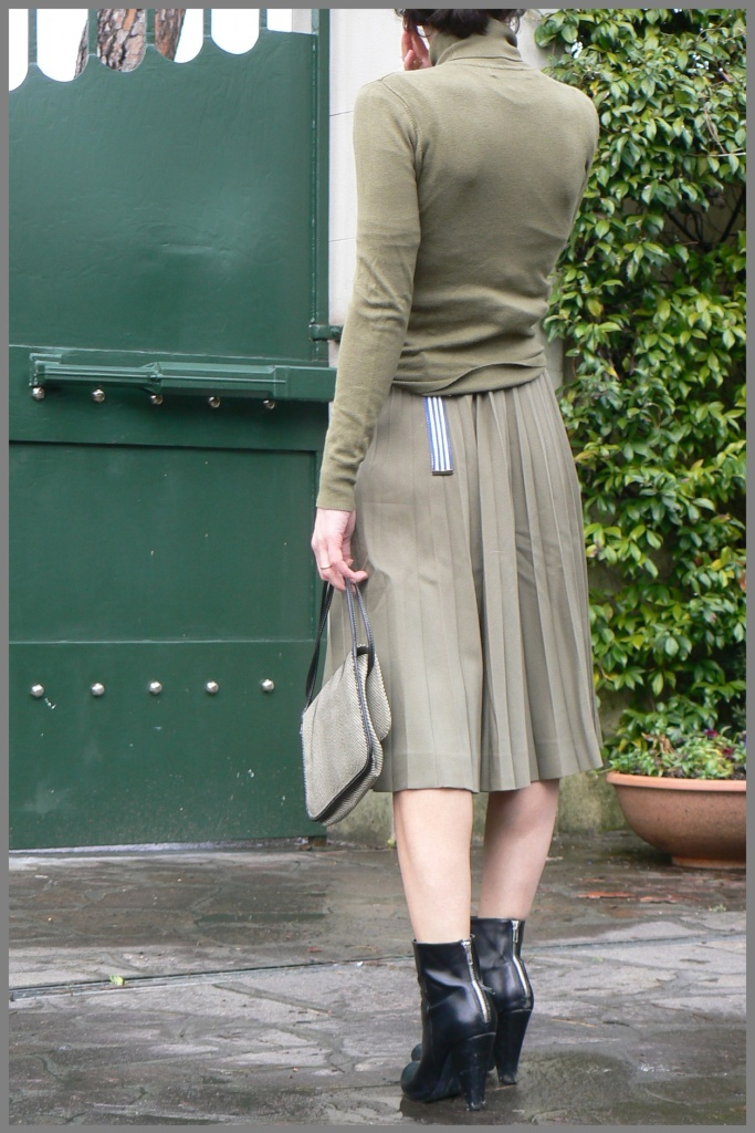 My style, green skirt, vintage, vintage styl