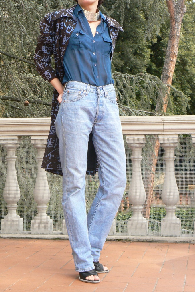 Balenciaga shoes, Levi's 501, jeans Levi's, vintage,Pieces, Anastasia, Florence, shirt, new outfit, mysouldress