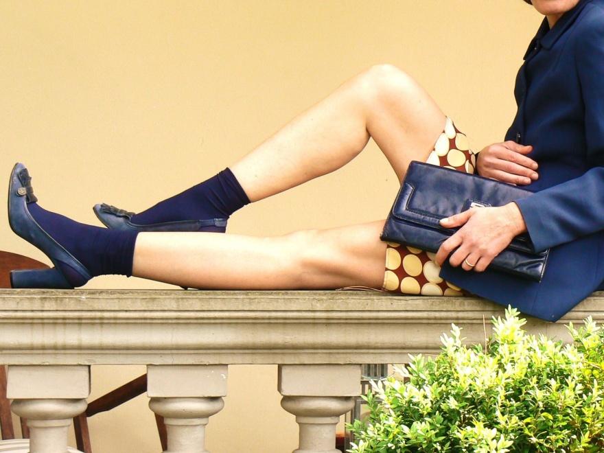 Marni for H&M, Marni dress, H&M, Marc Jacobs shoes, blue shoes, Marc Jacobs, fantasy dress, Caractère jacket, blue jacket, socks and shoes, Anastasia style, Florence, vintage style, cool outfit, look da cerimonia, look da battesimo, seni prosperosi, Caractère,
