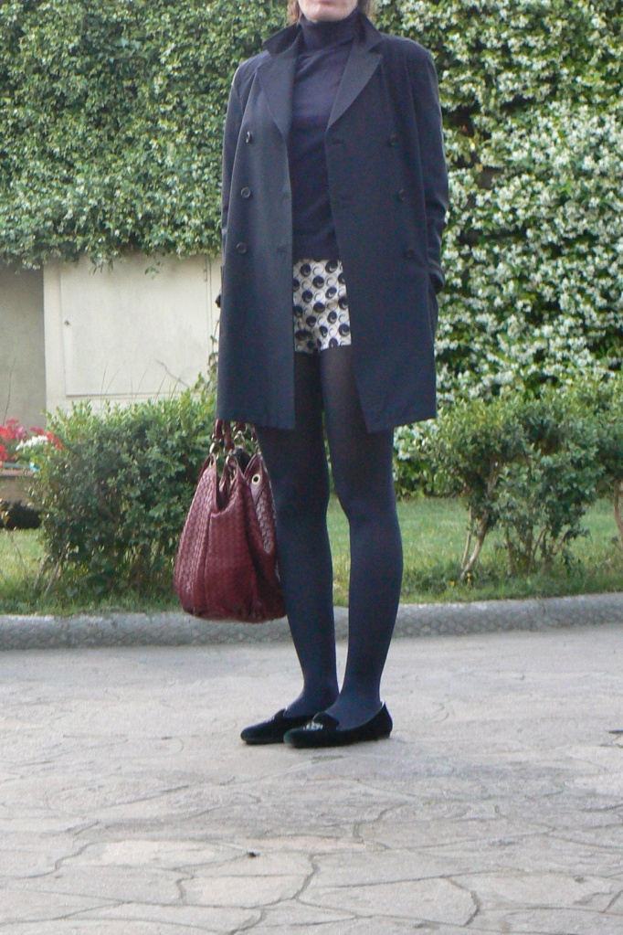 la grande bellezza, Paolo Sorrentino, pantaloncini vintage, polka pants, Red bag, Prada coat, Benetton sweater, alexander McQueen loaffers, Toni Servillo, la Santa, Astra 2, Florence, Anastasia style, vintage style, vintage, casual look, new outfits, fashion blogger,
