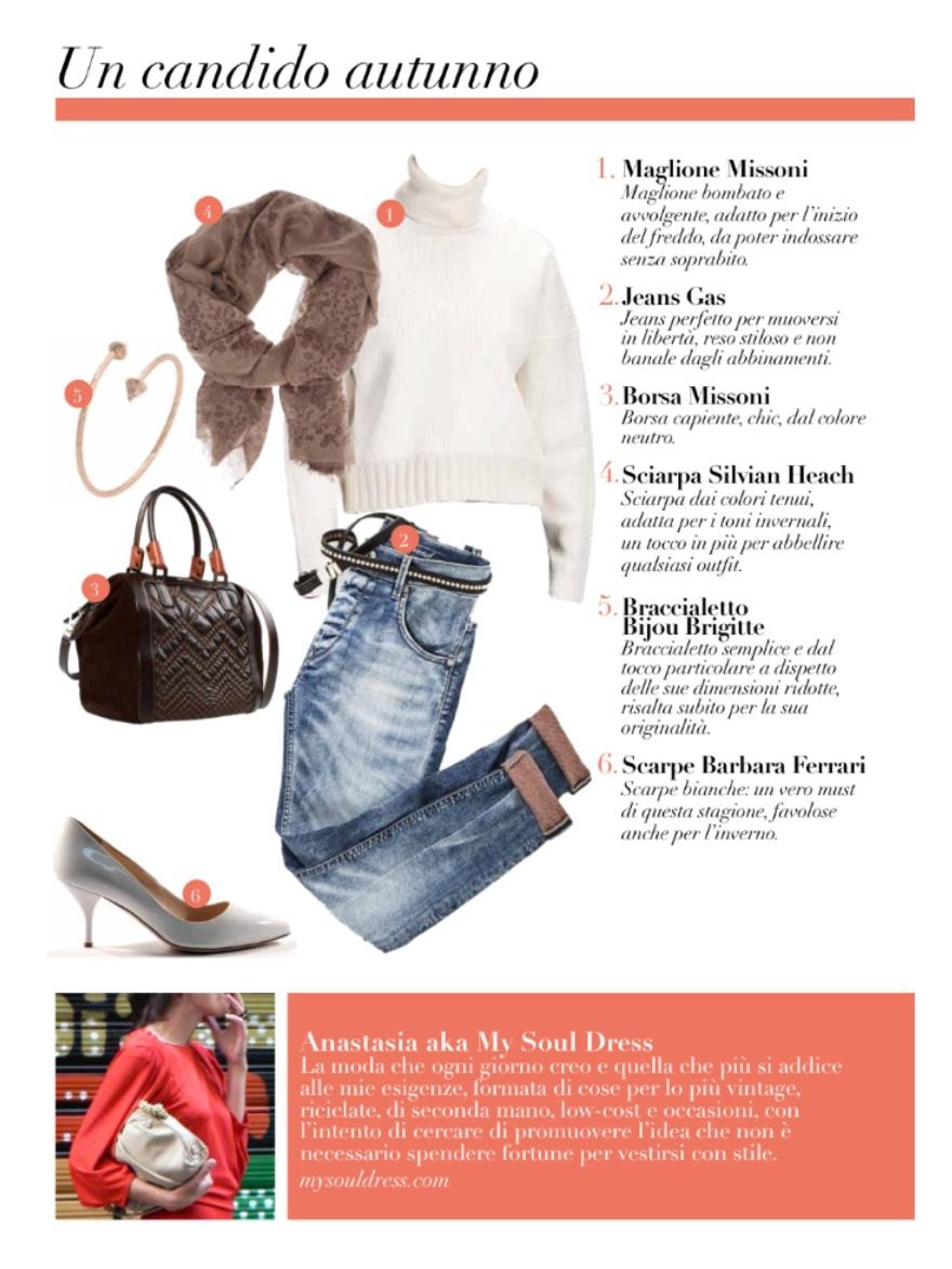 Stile di moda, ebook, Stile di Carla, consigli di Carla, mysouldress, Anastasia style, Florence, gossip, tendenze, stile