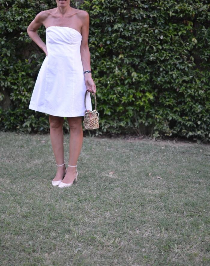 Little white dress, white dress, Etro dress, white, scarpe rosa cipria, Zara shoes, sandals Zara, outfit, Anastasia fashion blogger, Florence, italian fashion blogger, mixare fantasie, borsalino style, Vintage bag,fashion, vintage style.