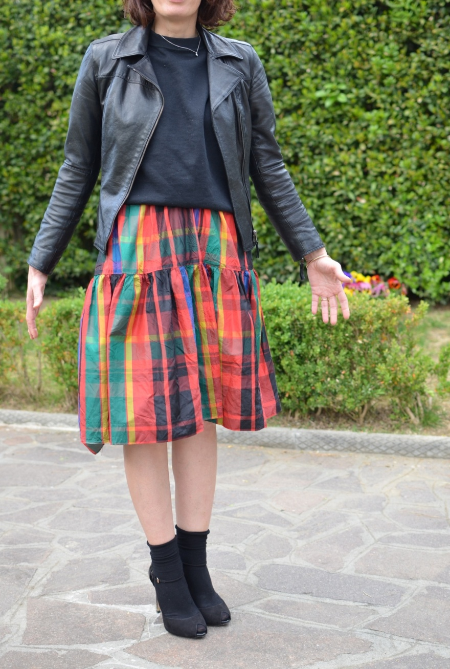 coat, black jacket, black pants, zara sweater, myouldress collection, casual outfit, vintage blog, cheap outfit, very cheap outfit,  mysouldress style, italian fashion blog, italian blogger, oversize, Sergio rossi shoes, black shoes, minimal outfit,  mysouldress skirt.
